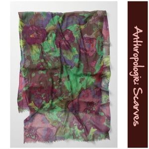 """Anthro """"Florapop Scarf"""" by Lionel & Lily"""